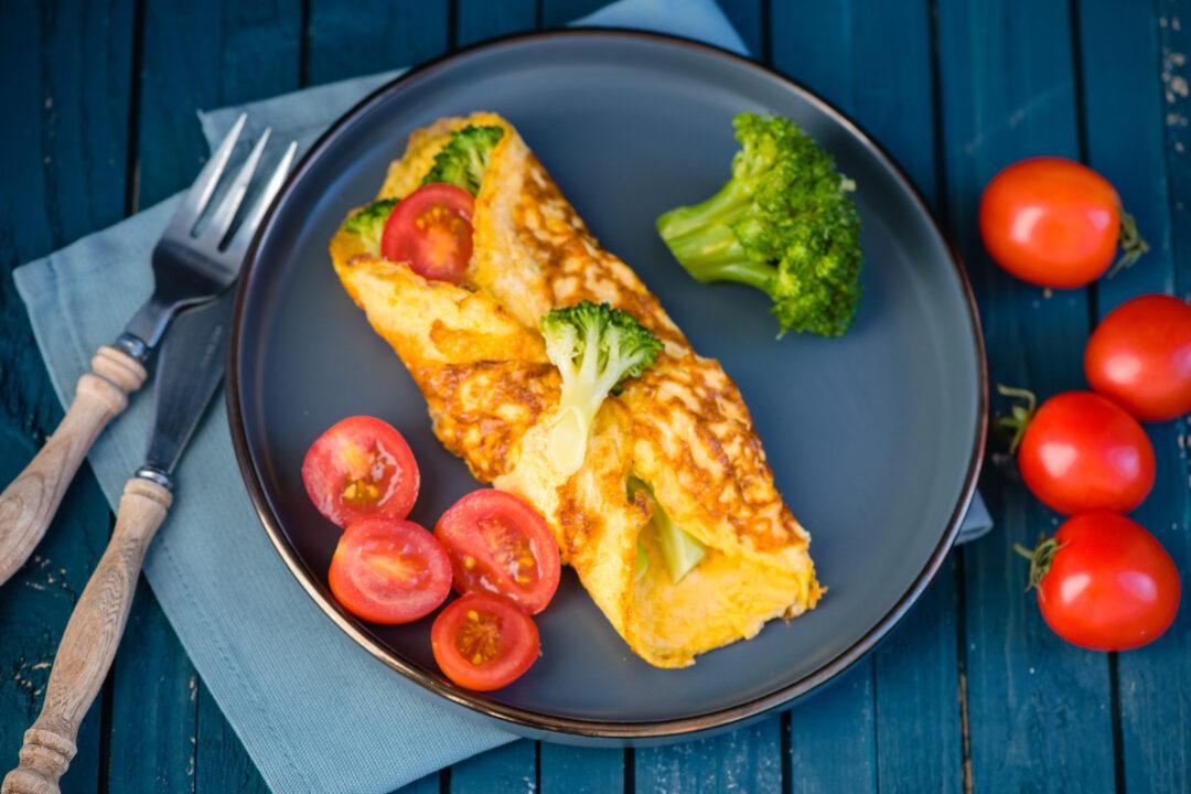 omleta wrap