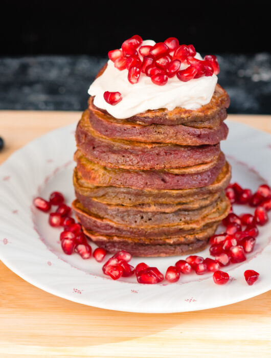 Pancake cu sfecla