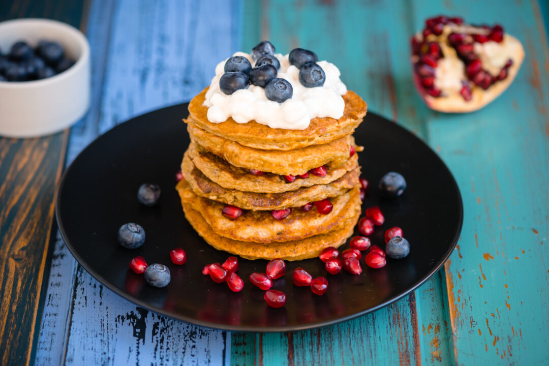 pancakes cu cottage cheese